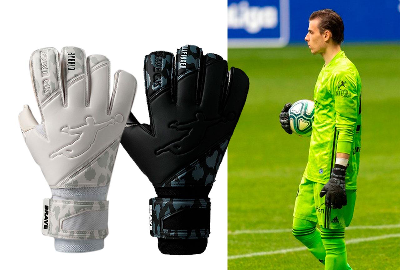 Андрей Лунин выбирает перчатки Brave GK Reflex RF и Reflex RF Negative