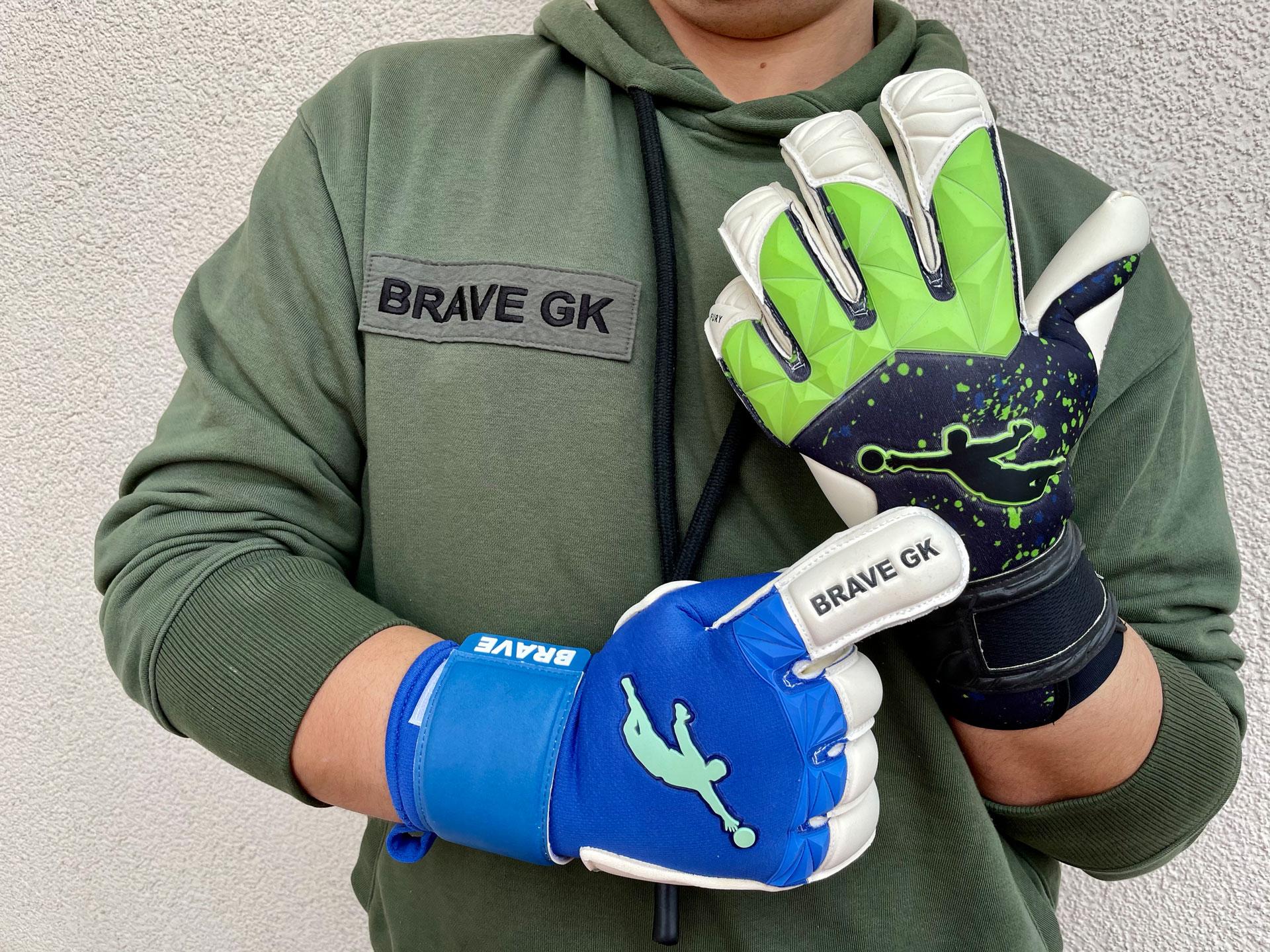 Brave GK Unique Blue і Fury 2.0 Green Paint Drops - официальный интернет-магазин Brave GK