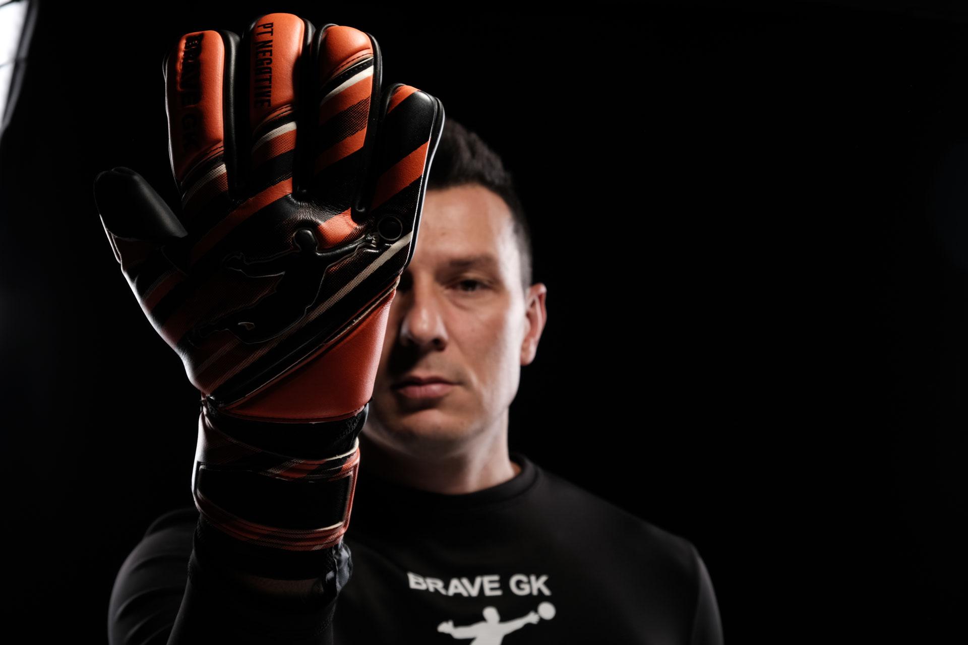 Воротарські рукавиці Brave GK Power Train Orange-офіційний інтернет-магазин Brave GK