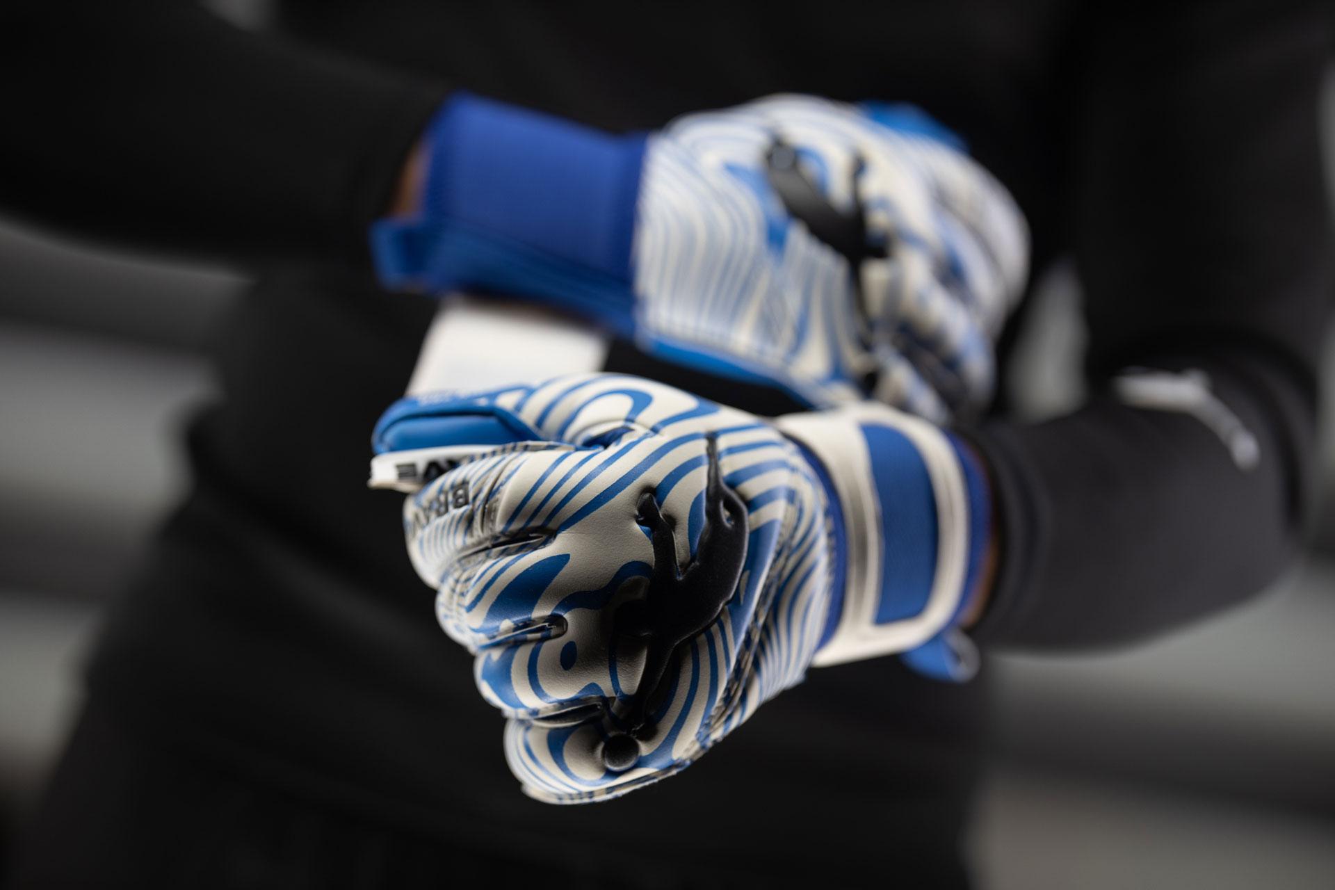 Вротарскіе рукавички Brave GK Rain Pro Blue