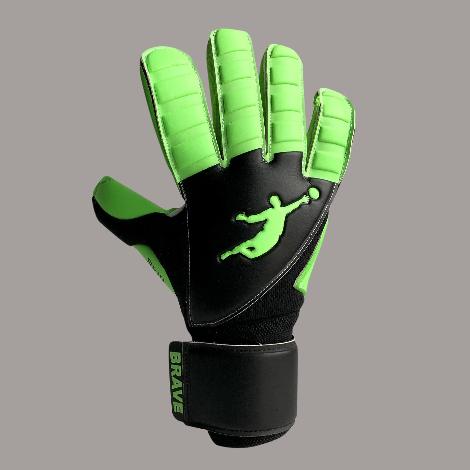 Перчатки Skill Green Flash - официальный интернет-магазин Brave GK
