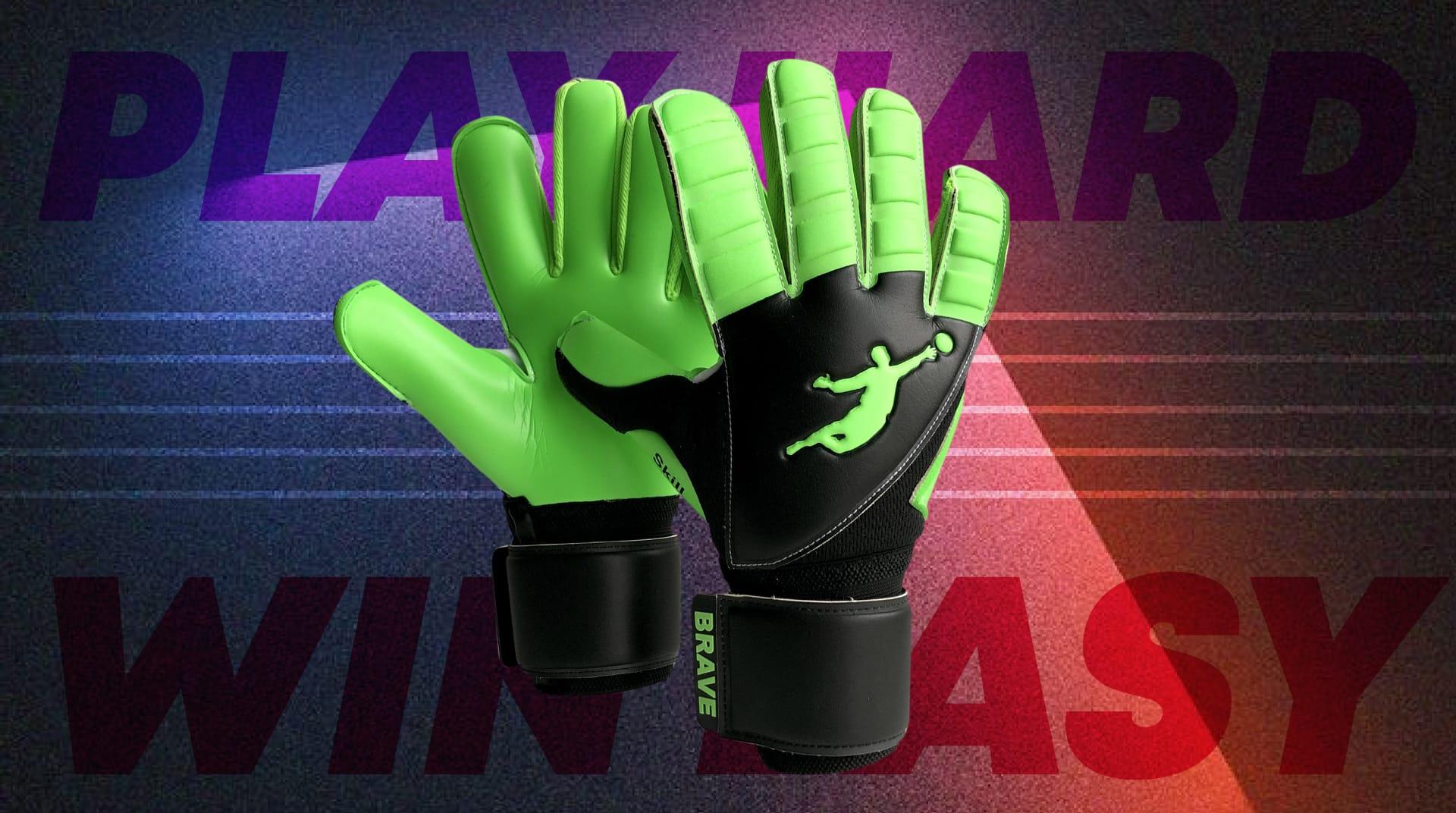 Вратарские перчатки Skill Green Flash - официальный интернет-магазин Brave GK