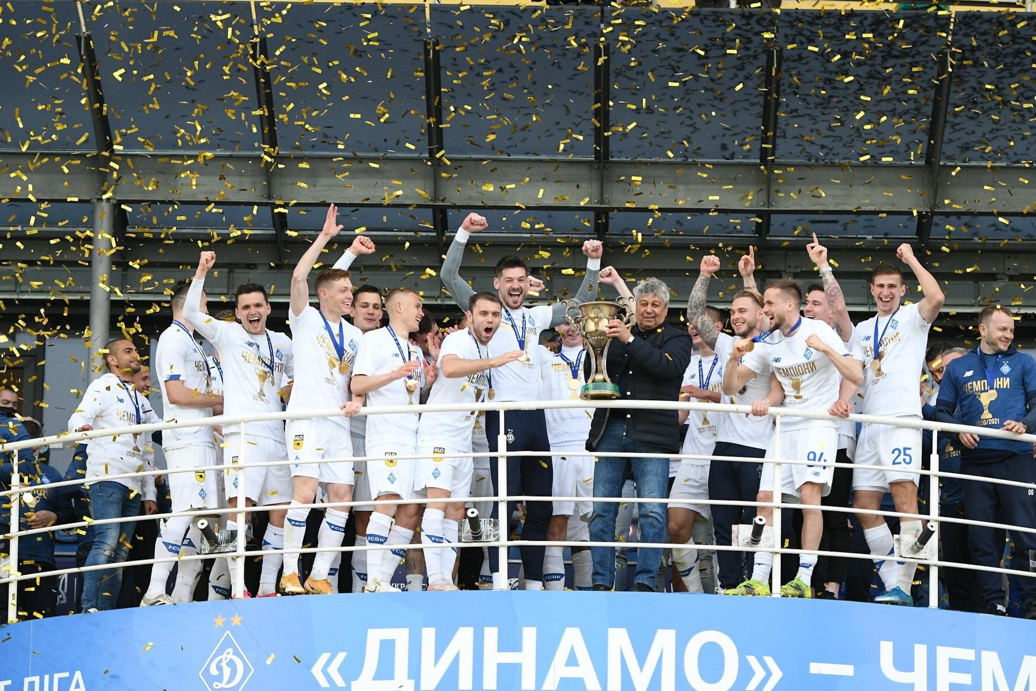 Динамо Киев – чемпион Украины - официальный интернет-магазин Brave GK