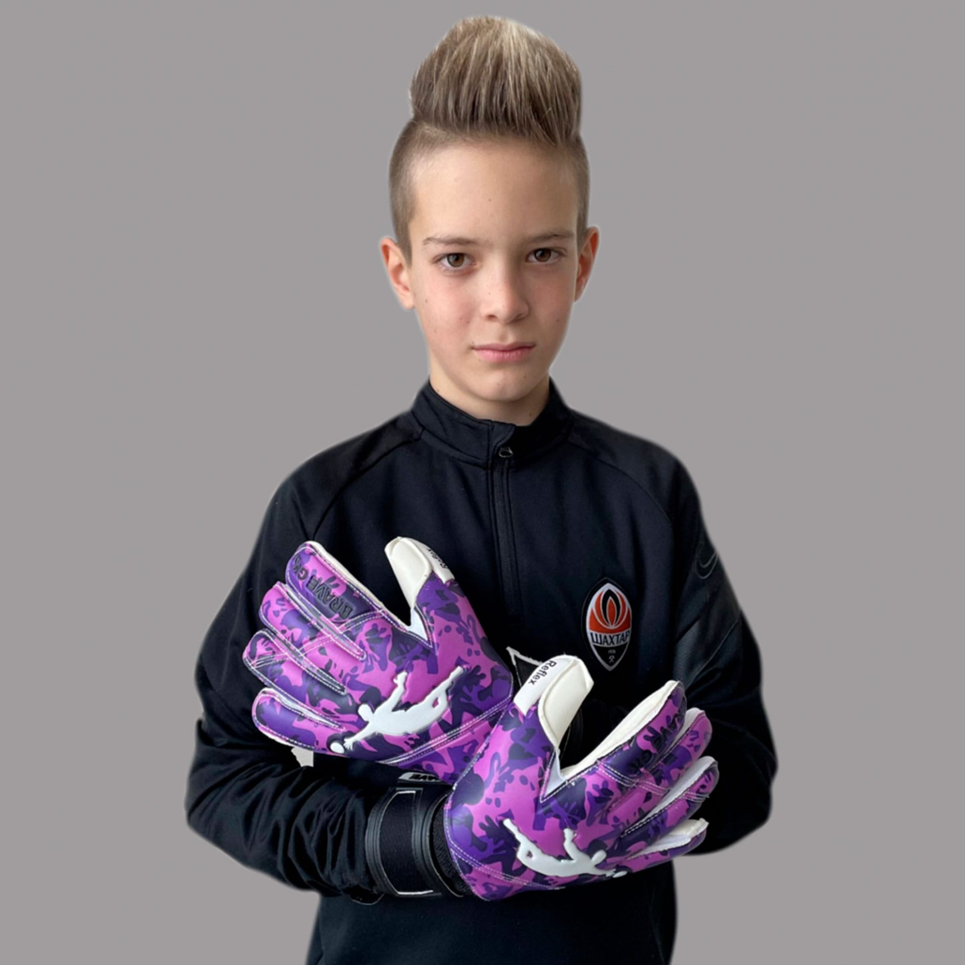 Рукавиці Brave GK Reflex Camo Purple - інтернет-магазин Brave GK